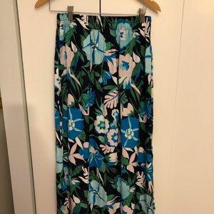 Brand New Loft Floral Maxi Skirt